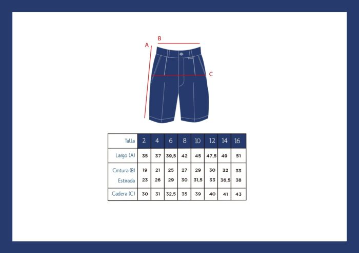 Summer blue shorts