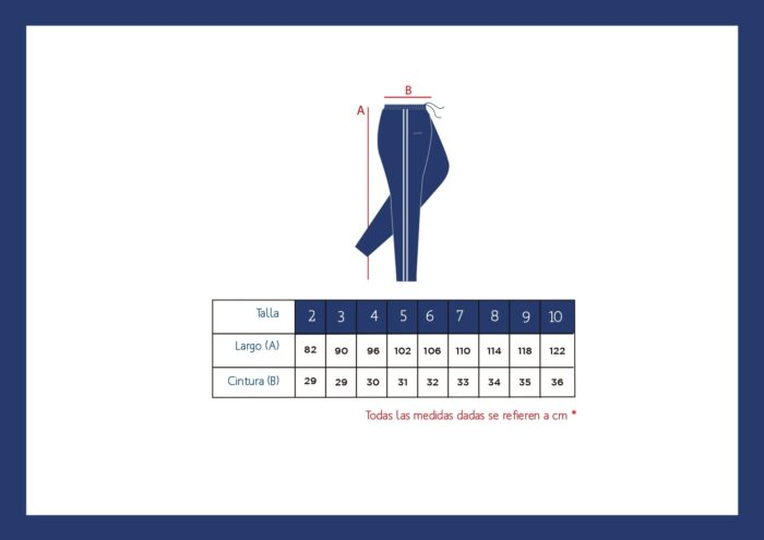 Secondary PE trousers